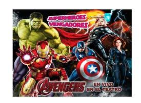 Superheroes Vengadores - 2x1