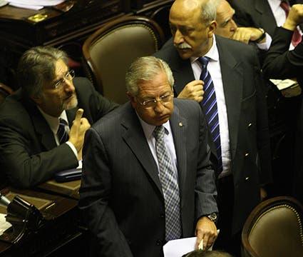 El Presidente de la Cámara, Eduardo Fellner. Foto: LA NACION / Ricardo Pristupluk