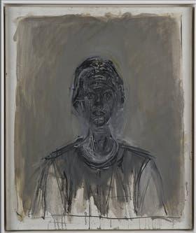 Annette negra, óleo sobre tela de 1962