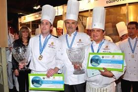 Los ganadores de la competencia del año anterior