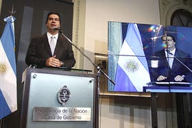 El jefe de Gabinete, Jorge Capitanich, tiene previsto hacer su primer informe de gestión ante el Senado de la Nación