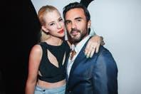 Nicole Neumann y Fabián Cubero, muy acaramelados en el lanzamiento de la firma Nikka N