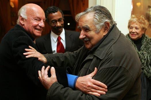 Junto a José Mujica el 9 de Julio de 2009. Foto: Archivo