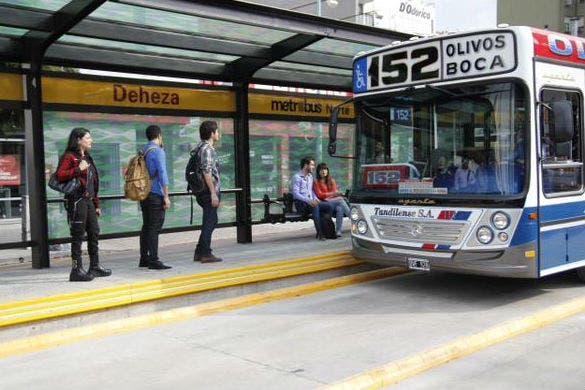 El 152 ya circula por el Metrobus Norte