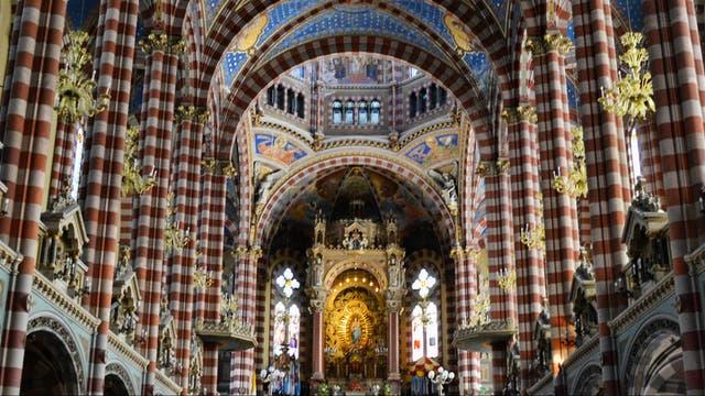 Interior de la Basílica de San Carlos y María Auxiliadora, Almagro. Foto: Martín Hernández