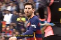 """""""Andate, boludo"""", la dedicatoria de Lionel Messi al arquero de Espanyol, y el cambio que Cristiano Ronaldo le hizo a Zidane"""