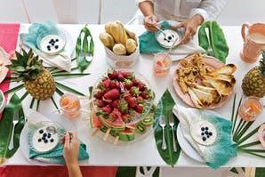 Ideas para armar una mesa de brunch
