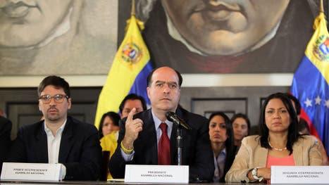El presidente de la Asamblea Nacional de Venezuela, Julio Borges