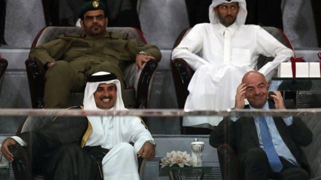 Parece haber llegado la hora de que Qatar, que está llamada a organizar el Mundial de fútbol de 2020, reconsidere sus amistades