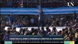 Cristina llamó a ponerle límites al Gobierno - Matías Moreno en Más Despiertos