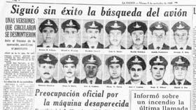 La Nación publicó las fotos de todos los pasajeros del TC-48, perdido en Costa Rica en noviembre de 1965