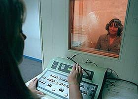 Una etapa del examen médico preocupacional en Telefóncia de Argentina