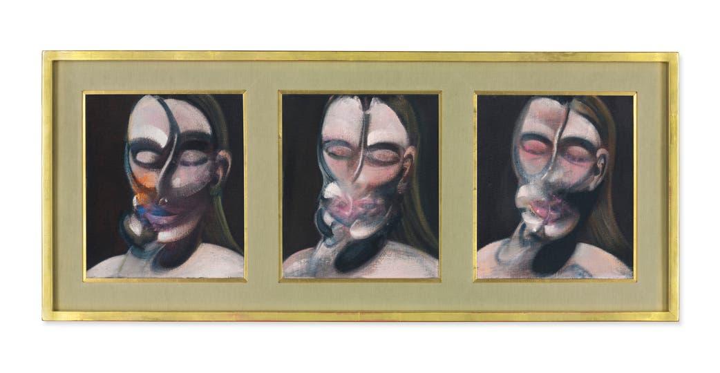 Tres estudios para un retrato (1976), de Francis Bacon, saldrá a la venta con una base estimada entre 14 y 21 millones de dólares
