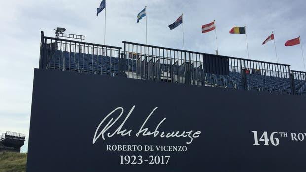 El Abierto Britanico de Golf recordó a Roberto De Vicenzo