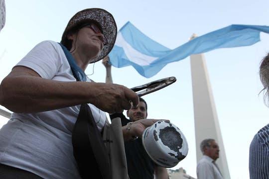 La ocurrencia y originalidad de los que participaron en la protesta del #8N. Foto: LA NACION / Fabián Marelli