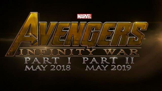 Así se presentó el proyecto en un principio. Al poco tiempo, darían marcha atrás y sólo la tercera parte sería bautizada como Infinity War.