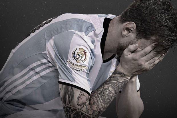 El lamento de Messi tras la final