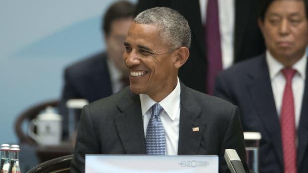 Obama elogió a Macri durante su discurso
