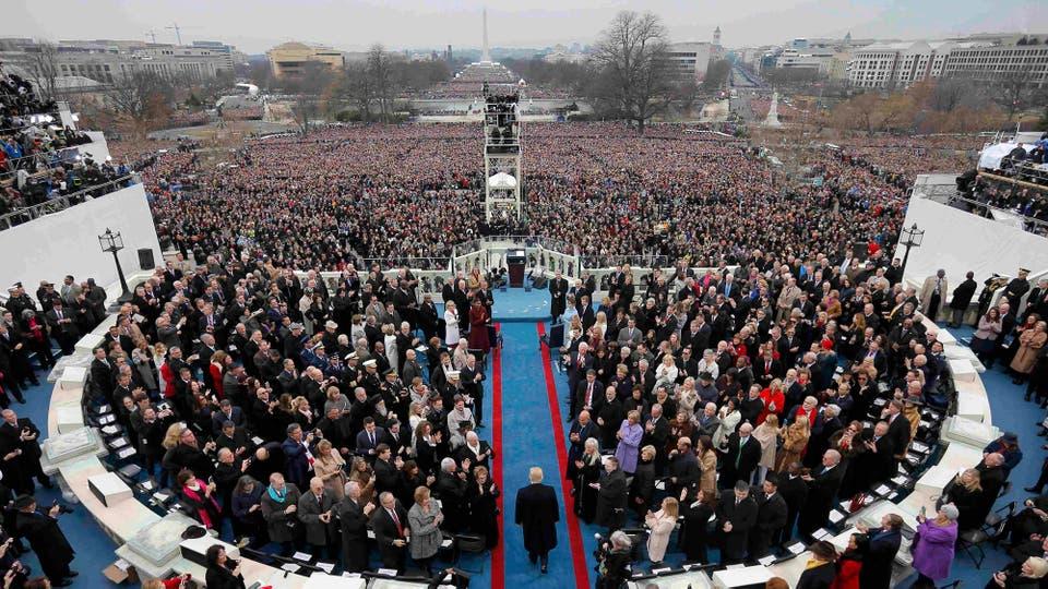 Donald Trump asume como presidente de los EE.UU. Foto: Reuters