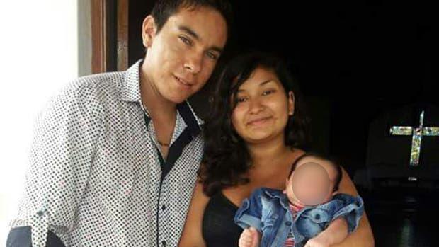 Camila Fernández y Braian Torres tuvieron a Matías en la adolescencia y continuaron con sus estudios