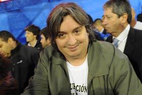 Máximo Kirchner, acusado por Pablo Moyano
