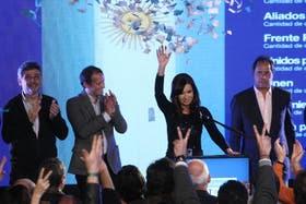 Cristina Kirchner perdió la mitad de los votos de 2011