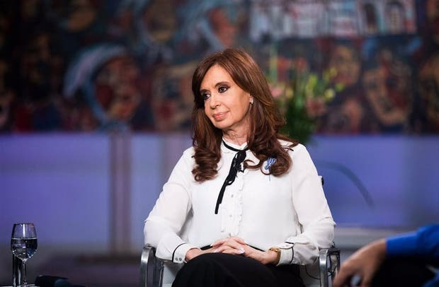 Cristina fue entrevistada durante más de una hora y media por cuatro periodistas