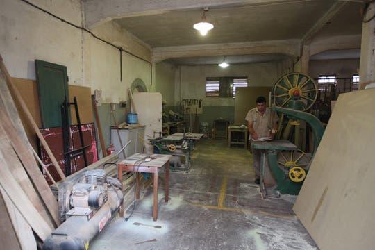 Hay cocineros, carpinteros, enfermeros y especialistas de diferentes áreas. Foto: LA NACION / Guadalupe Aizaga