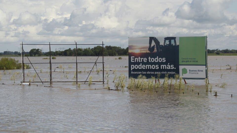 Ya se considera que la cosecha está totalmente perdida. Foto: LA NACION / Emiliano Lasalvia / Enviado especial
