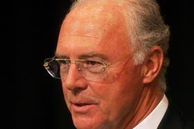 Beckenbauer, sorprendido