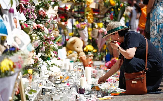 En Londres, un homenaje a las víctimas del incendio