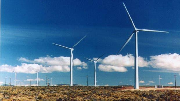 Parque eólico en Comodoro Rivadavia