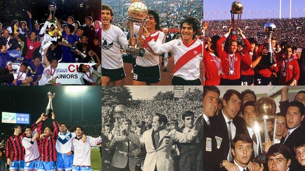 Los seis campeones del mundo argentinos