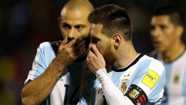 Messi y Mascherano, líderes del equipo