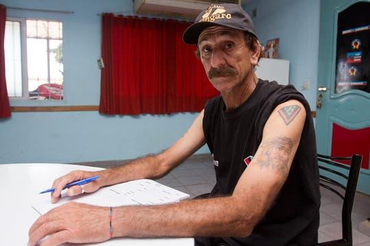 Pablo Vicó, un hombre que vive por y para sus colores. Foto: LA NACION / Sebastián Rodeiro