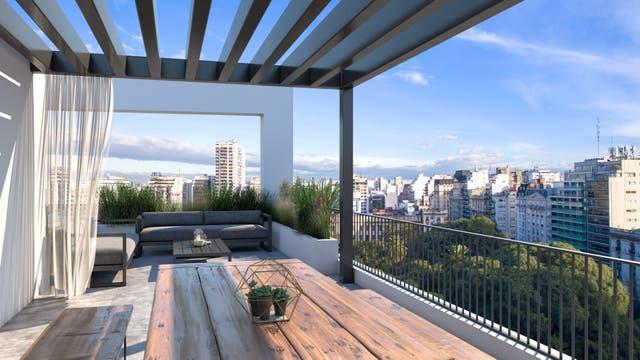 El penthouse tendrá terraza propia