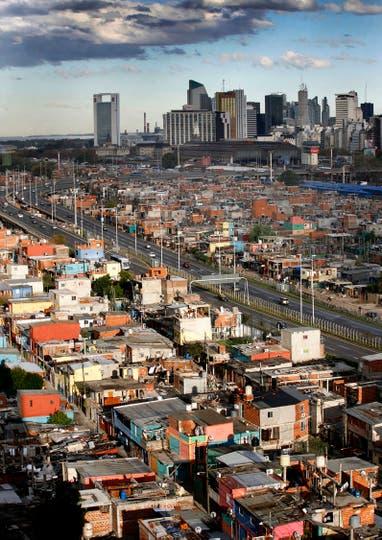La 31 es una de las villas que será urbanizada. Foto: Archivo / Santiago Filipuzzi / LA NACION