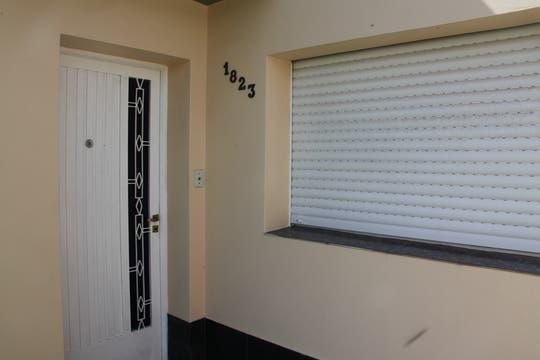En esta vivienda permaneció secuestrada Sonia Molina durante casi tres meses. Foto: Enviado especial / Guadalupe Aizaga