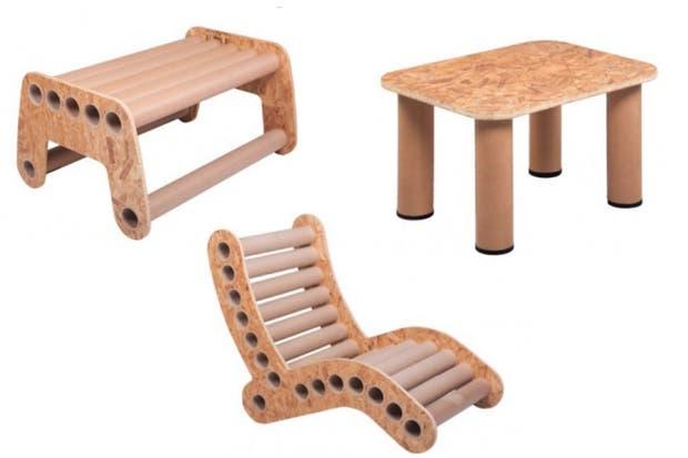 Todos los diseños de Pomada son realizados en base a materiales reciclados..