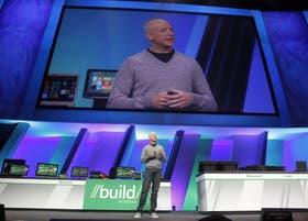 Steven Sinofsky en la presentación de Windows 8