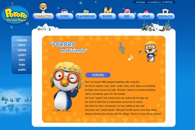 La serie animada Pororo tuvo a animadores norcoreanos involucrados en el desarrollo de las primeras temporadas