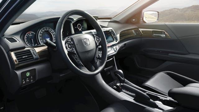El tablero del Honda Accord 2017