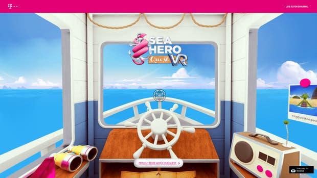 El juego Sea Quest Hero está disponible también para smartphones desde el año pasado