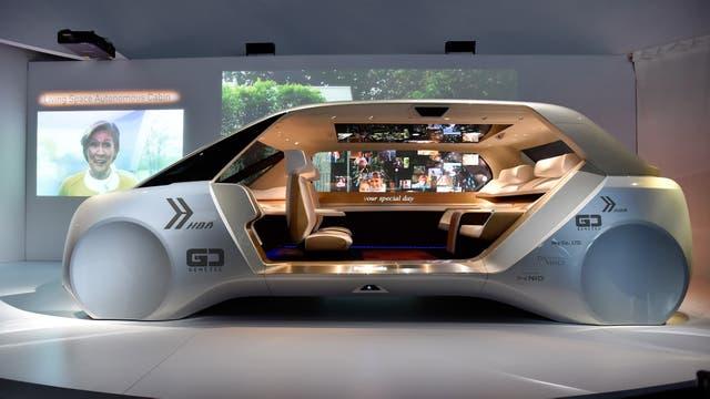 Un concepto de vehículo autónomo