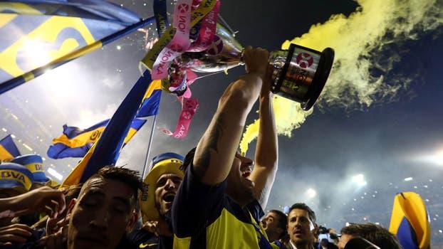 La gran fiesta Boquense. Foto: Reuters