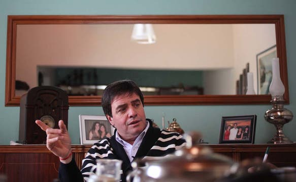 Eduardo Benitez, ex intendente de Cutral Có por la UCR. Foto: LA NACION / Santiago Hafford