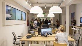 Nuevos locales, como espacios de trabajo en equipo