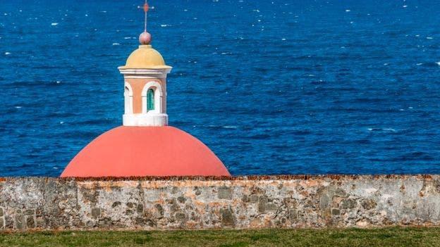 Vista desde el Castillo San Felipe del Morro, en San Juan