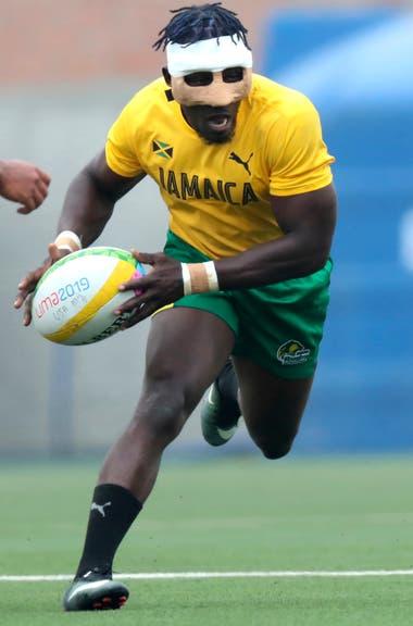 Entrenamiento del equipo de Rugby de Jamaica