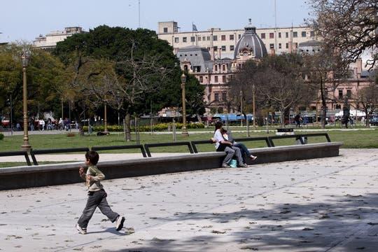 El metro cuadrado en Constitución tiene uno de los costos más bajos de la Capital. Foto: LA NACION / Maxie Amena